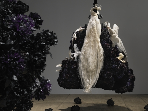 Petah Coyne Untitled #1375 (No Reason Except Love: Portrait of a Marriage), 2011-12