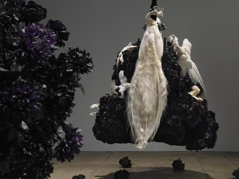Petah Coyne Untitled #1375 (No Reason Except Love: Portrait of a Marriage), 2011-12