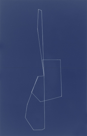 Kate Shepherd     Leotard Blue Bubble Figure, 2011 Oil and enamel on wood panels 26 x 16 inches (66 x 40.6 cm) GL8296