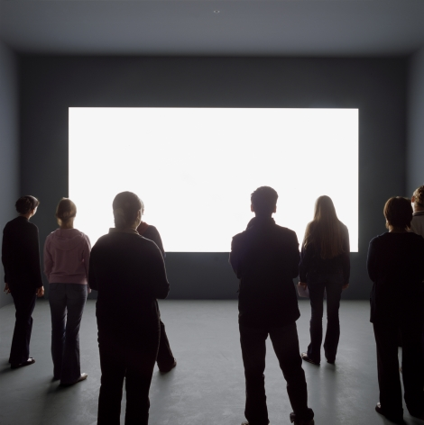 Alfredo Jaar  Lament of the Images, 2002  Installation: 3 plexiglas plates with inscriptions, light wall, mixed media  Text panels: each 23 x 20in. (58.4 x 50.8 cm)  Light wall: 6 x 12 feet (182.9 x 365.8 cm)