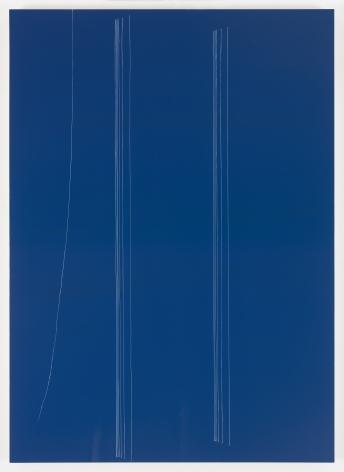 Kate Shepherd dark bic, colonnade, thread in wind, 2016