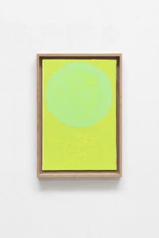 Etel Adnan Planète 16, 2020 Oil on canvas 13 x 8.7 inches (33 x 22 cm) Framed: 14.25 x 9.9 inches (36.2 x 25.1 cm)  GL14745