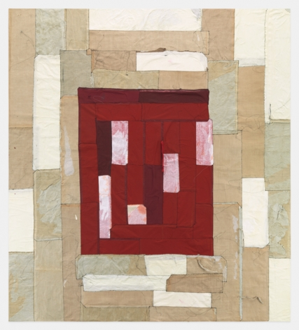 Samuel Levi Jones, Mass Awakening, Deconstructed print portfolios on canvas