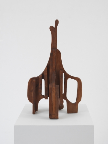 Mildred Thompson Untitled, from the Credo Series, c. 1992-94 Wood 24 x 15.3 x 11 inches (61 x 39 x 28 cm) (GL13146)