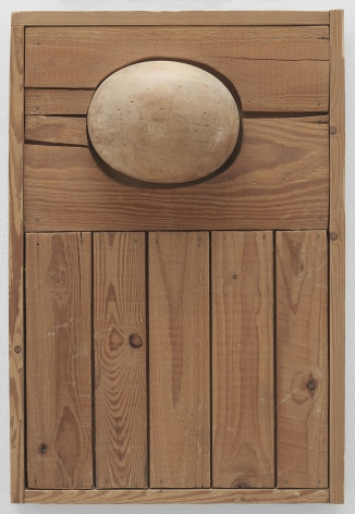 Mildred Thompson Wood Picture, c. 1965 Wood 24.4 x 16.5 inches (62 x 42 cm) (GL13331)