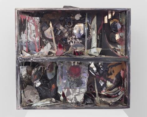 Carolee Schneemann Fire-Controlled Burning: Fireplace, 1963