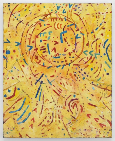 Mildred Thompson Magnetic Fields 107, 1990