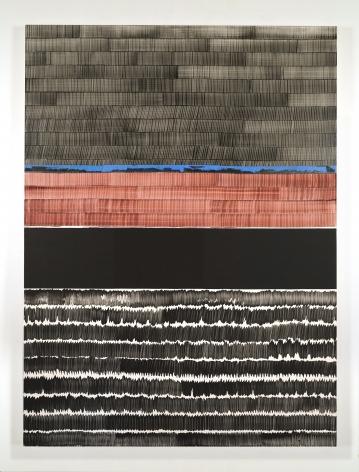 Juan Uslé Soñé que revelabas (Bravo), 2020 Vinyl dispersion and dry pigment on canvas 120.1 x 89.75 inches (305 x 228 cm) (GL14562)