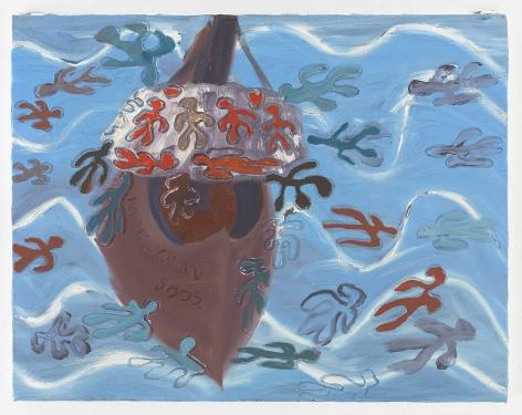 Ficre Ghebreyesus La Amistad, 2002 Acrylic on canvas 11 x 14 inches (27.9 x 35.6 cm) Framed: 13.5 x 16.5 x 1.75 inches (34.3 x 41.9 x 4.4 cm) GL13650