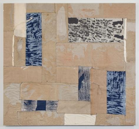 Samuel Levi Jones  Apparatus, 2019  Print portfolios on canvas  60 x 65 inches (152.4 x 165.1 cm) GL12801