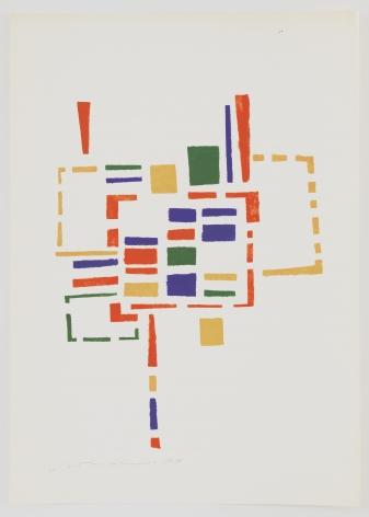 Mildred Thompson, Untitled (No #VIII), 1973