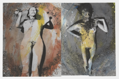 Carolee Schneemann Evaporation (Pair #4), 1974 / 2015