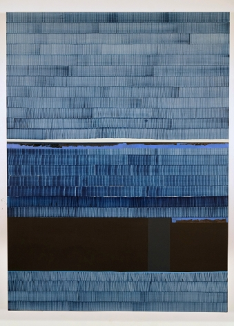 Juan Uslé Soñé que revelabas (Liard), 2019-2020 Vinyl dispersion and dry pigment on canvas 108.27 x 79.92 inches (275 x 203 cm) GL14565