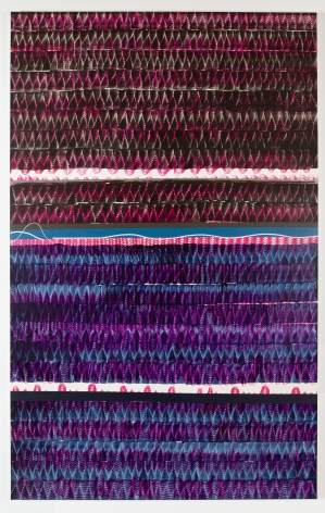 Juan Uslé Racó del Duc, 5 (in Sepis), 2019 Vinyl dispersion and dry pigment on canvas 96 x 60 inches (243.8 x 152.4 cm) GL14207