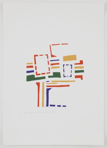 Mildred Thompson, Untitled (No #VI), 1973