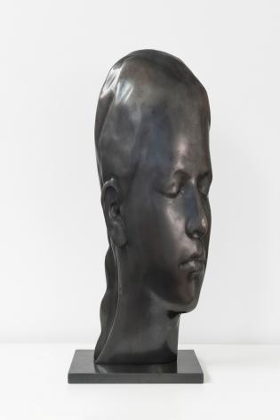 Jaume Plensa Study for Carla, 2020 Bronze 22 1/8 x 5 7/8 x 9 1/8 in (56 x 15 x 23 cm) 11 kg Edition 5 of 8 (GP2709)