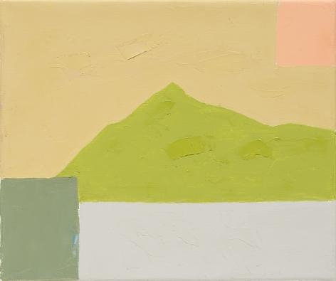 Etel Adnan, Untitled, 2014