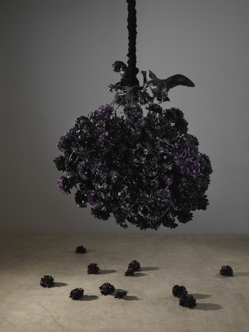 Petah Coyne Untitled #1408 (The Lost Landscape), 2015-18