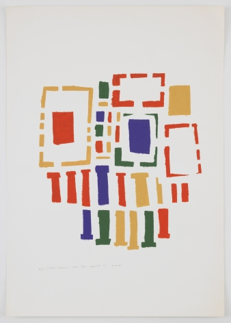 Mildred Thompson, Untitled (No #II), 1973