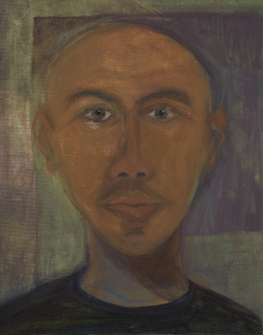 Ficre Ghebreyesus, oil on canvas