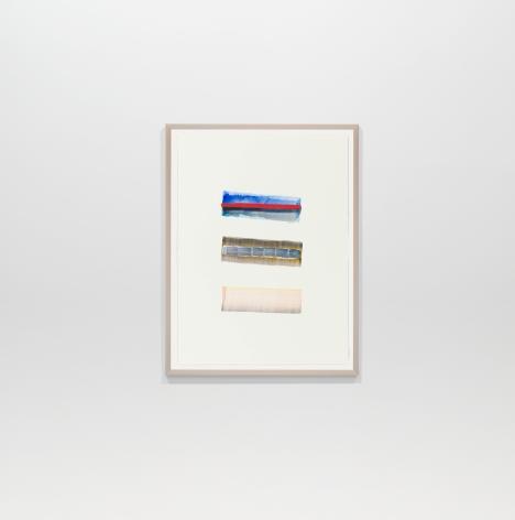 Juan Uslé  En Benissa, 2018  Watercolor on paper  12.2 x 9.06 inches (31 x 23 cm)  GL14581