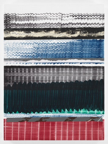 Juan Uslé Palido Norte, 2021 Vinyl, dispersion, and dry pigment on canvas 22 1/8 x 16 1/8 in (56 x 41 cm) (GL14955)