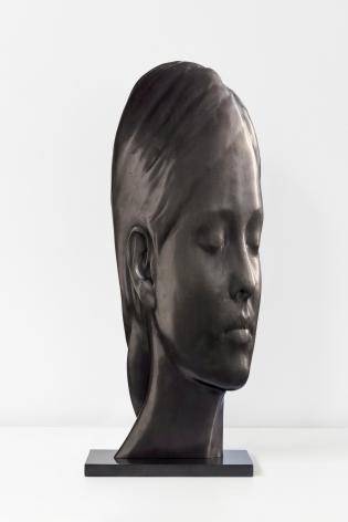 Jaume Plensa Study for Maria, 2020 Bronze 22 1/8 x 5 7/8 x 8 5/8 in (56 x 15 x 22 cm) 11 kg Edition 5 of 8 (GP2707)