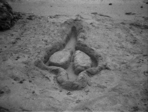 Ana Mendieta  Untitled, 1981  Super-8mm film transferred to high-definition digital media, black and white, silent  Running time: 02:54 minutes  Edition of 8 with 3 APs