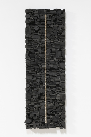 Leonardo Drew Number 262, 2020 Wood and paint 72 x 25 x 6.5 inches (182.9 x 63.5 x 16.5 cm) (GL14812)