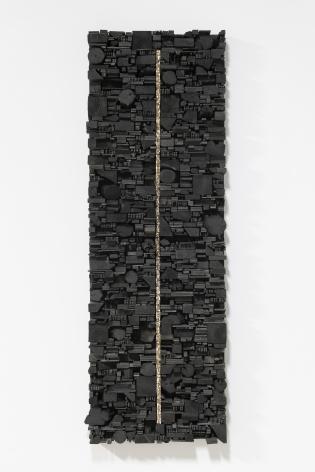 Leonardo Drew Number 262, 2020 Wood and paint 72 x 25 x 6.5 inches (182.9 x 63.5 x 16.5 cm) (GL14812)