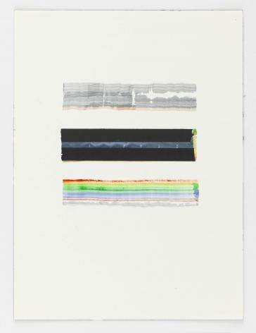 Juan Uslé En Benissa, 2018 Watercolor on paper 12.2 x 9.06 inches (31 x 23 cm) GL14582