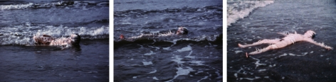 Ana Mendieta, Ocean Bird (Washup), 1974