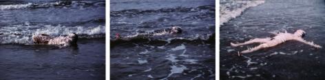 Ana Mendieta, Ocean Bird (Washup), 1974