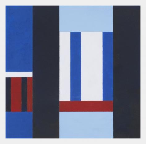 Hélio Oiticica  Untitled, 1955  Gouache on board  19 x 17 3/4 inches (48.3 x 45.1 cm) Framed: 22 1/4 x 21 13/16 x 1 3/4 inches (56.5 x 55.4 x 4.4 cm)  (GL11094)