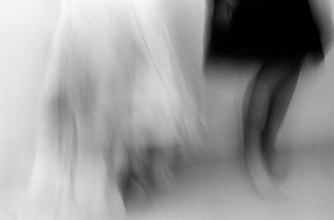 Petah Coyne Untitled #1046 (Hanging White/Hanging Black, The Debs Series), 2001