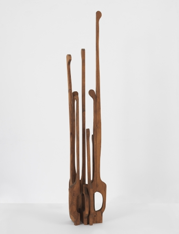 Mildred Thompson Untitled, from the Credo Series, 1989 Wood 55 1/2 x 9 x 10 in (141 x 22.9 x 25.4 cm) (GL13151)