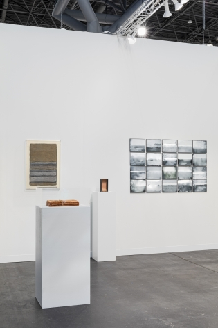 Installation view at The Armory Show