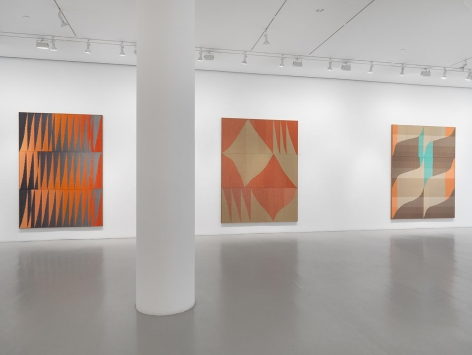 BRENT WADDEN Installation view at Mitchell-Innes & Nash, NY, 2015