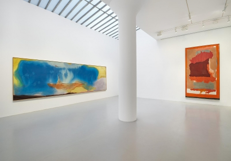 HELEN FRANKENTHALER, MORRIS LOUIS, KENNETH NOLAND and FRANK STELLA