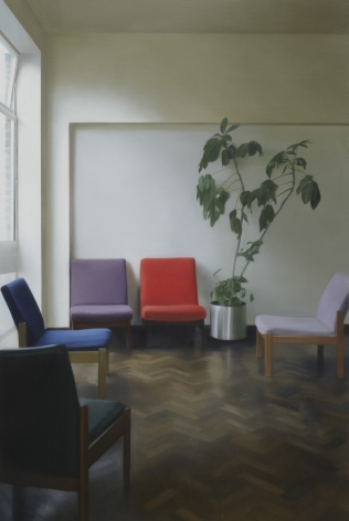 PAUL WINSTANLEY Interior with Two Facing Chairs