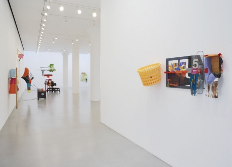 JESSICA STOCKHOLDER Installation view at Mitchell-Innes & Nash, NY, 2006