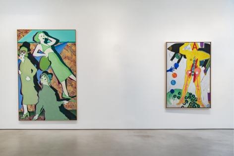 KIKI KOGELNIK Installation view at Mitchell-Innes & Nash, New York, 2019