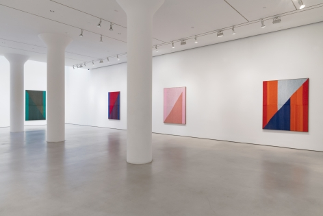 BRENT WADDEN Installation view of Second Lifeat Mitchell-Innes & Nash, NY, 2019