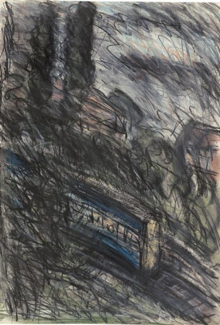 LEON KOSSOFF Train by Night no. 1