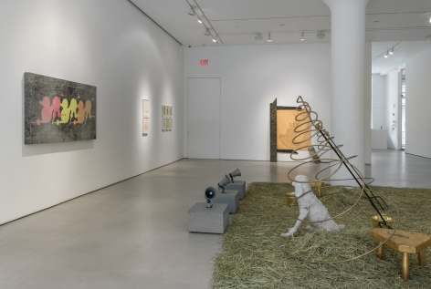 GENERAL IDEA Installation view ofP is for Poodleat Mitchell-Innes & Nash, New York, 2020