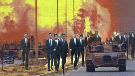 MARTHA ROSLER Invasion, from the series House Beautiful: Bringing the War Home, New Series 2008