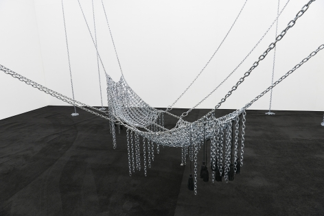 MONICA BONVICINI Chain Leather Swing