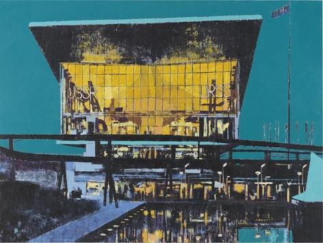 ENOC PEREZ Pavilion of the Soviet Union, Expo 67