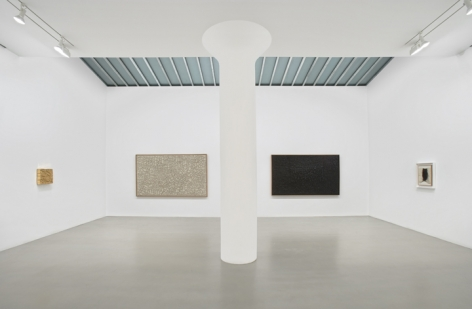 ALBERTO BURRI Installation view at Mitchell-Innes & Nash, NY, 2008