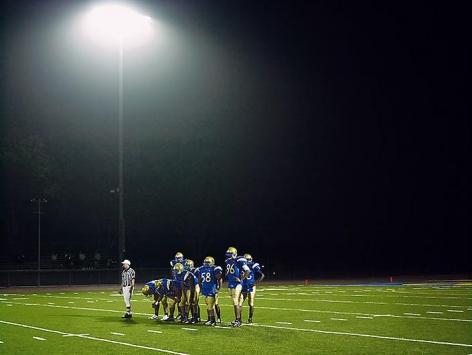 CATHERINE OPIE Football Landscape #9 (Crenshaw vs. Jefferson, Los Angeles, CA)